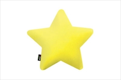 На фото Подушка Sonex Deco Star yellow