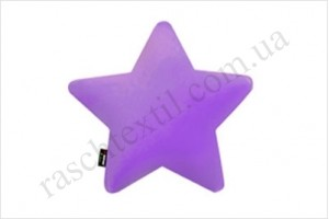 На фото Подушка Sonex Deco Star purple