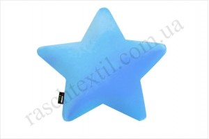 На фото Подушка Sonex Deco Star blue