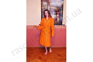На фото Халат Mariposa Woman orange