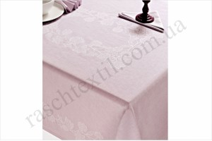На фото Скатертина Issimo Home Ellis pink