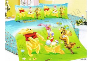 На фото Детское покрывало Shining Star Disney Winnie the Pooh friends